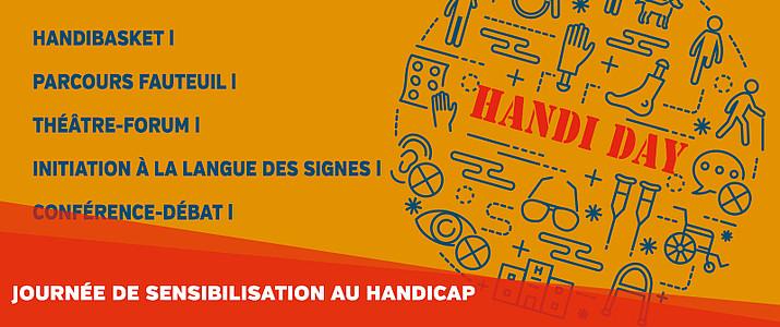 Handi Day - sensibilisation à l'INSA de Rennes